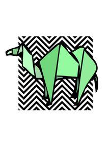 quadro-camelo-origami