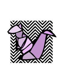 quadro-esquilo-origami