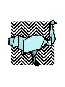 quadro-ganso-origami
