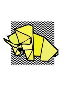 quadro-mamute-origami