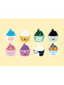 quadro-adventure-time-cupcake