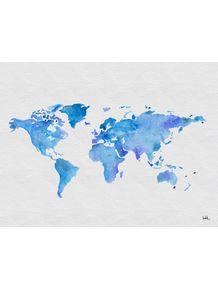 quadro-mapa-aquarelado