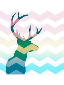 quadro-cervo-chevron-color-ii