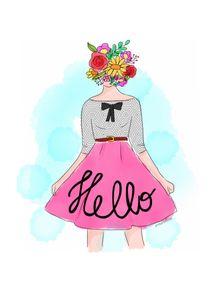 quadro-hello-flowerhead