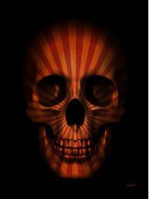 quadro-skull-circus