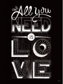 quadro-all-you-need-is-love-beatles