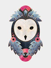 quadro-owl-white