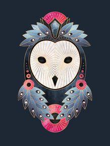 quadro-owl-dark-blue