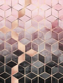 quadro-pink-and-grey-gradient-cubes