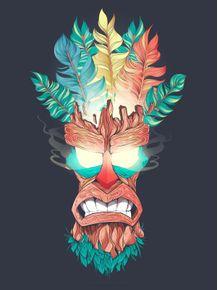 quadro-wood-mask-aku-aku