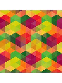 quadro-laranja-geometrica