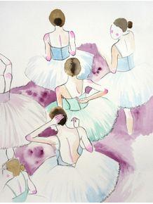 quadro-bailarinas-em-aquarela