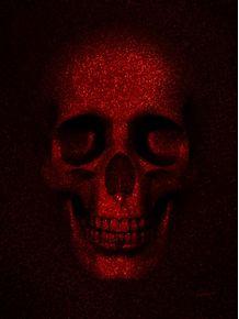 quadro-skull-glitter