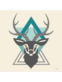 quadro-hipster-style-deer