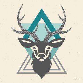quadro-hipster-style-deer