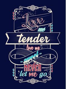 quadro-love-me-tender