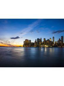 quadro-new-york-sunset