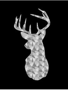 quadro-deer-geometric