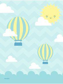 quadro-sol-ceu-baloes