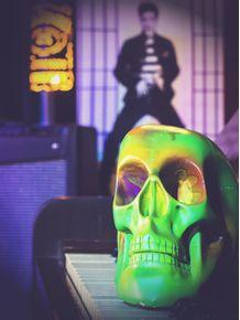 quadro-green-skull-1
