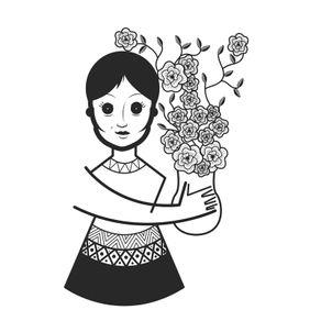 quadro-a-moca-e-as-flores-tau