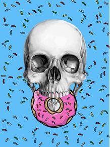 quadro-skull-simpsons