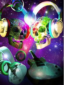 quadro-skull--music-lover-4