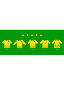 quadro-selecao-brasileira-camisas-do-brasil-mundial