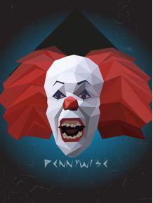 quadro-mestres-do-horror--pennywise