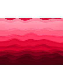 quadro-funny-waves-red
