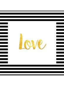 quadro-love-stripe