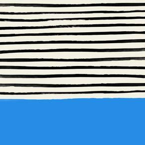 quadro-ocean-x-stripes