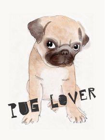 quadro-pug-lover