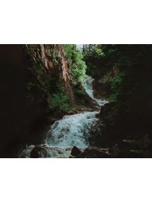 quadro-alaskan-waterfall