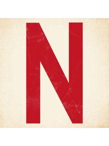 quadro-letter-n