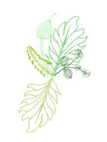 quadro-folhas-verdes-claras