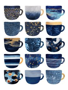 quadro-pretty-blue-coffee-cups