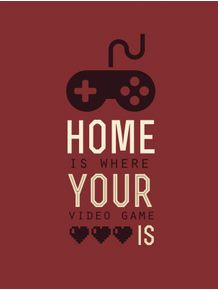 quadro-home-sweet-game