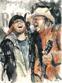 quadro-eddie-vedder-e-neil-young