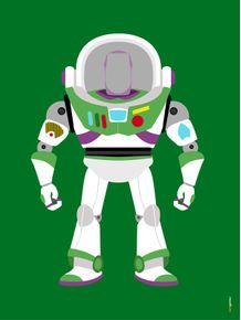 quadro-buzz-lightyear-toy-story-minimalista