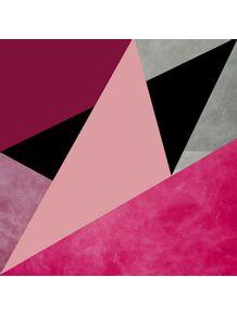 quadro-geometrico-rosa-i