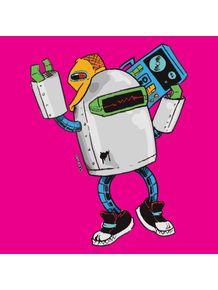 quadro-robot-pop