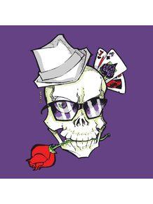 quadro-gambler-skull