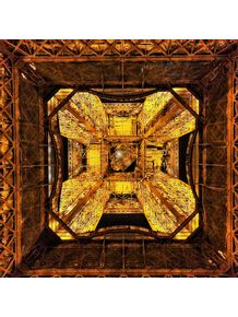 quadro-embaixo-da-torre-acesa