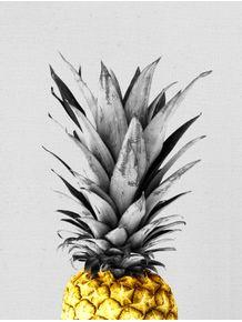 quadro-abacaxi-dourado