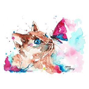 quadro-gata-manhosa
