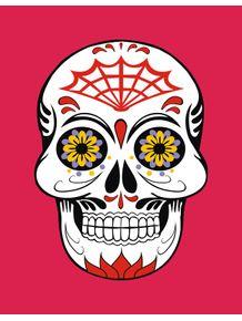 quadro-skull-dia-dos-mortos-i