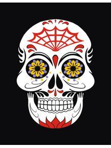 quadro-skull-dia-dos-mortos-ii
