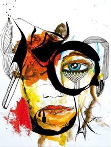 quadro-rosto-abstrato-01