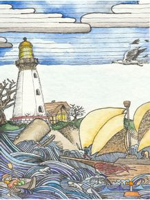 quadro-farol-em-doodle